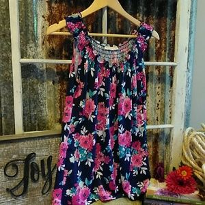 🏖️Claudia Richard Sleeveless Floral Top Size M